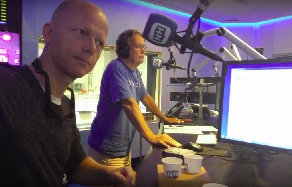 NH Radio: Wat doe je als er een bultrug recht op je af zwemt>
