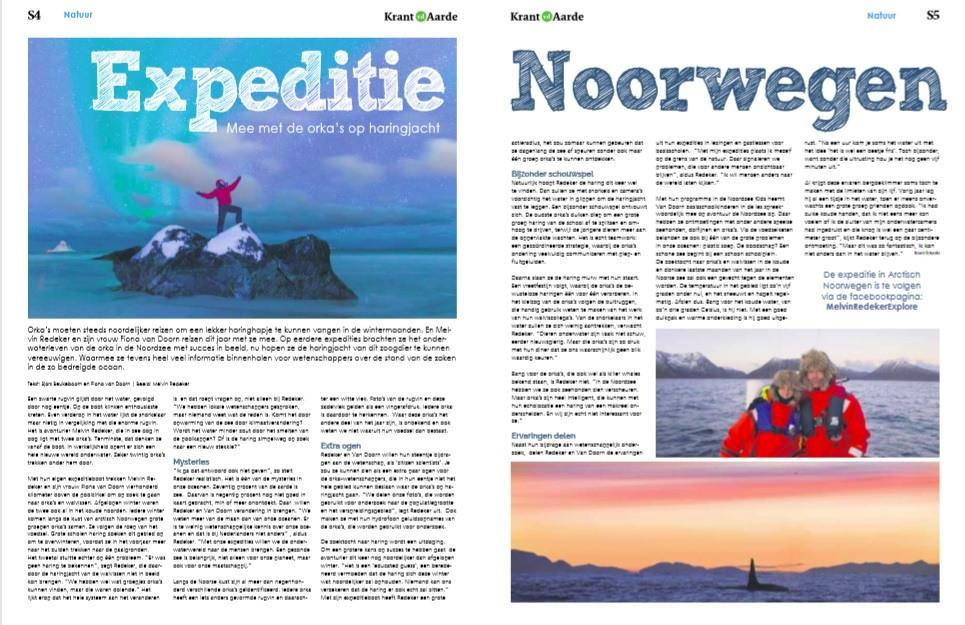 Krant van de Aarde: Expeditie Noorwegen