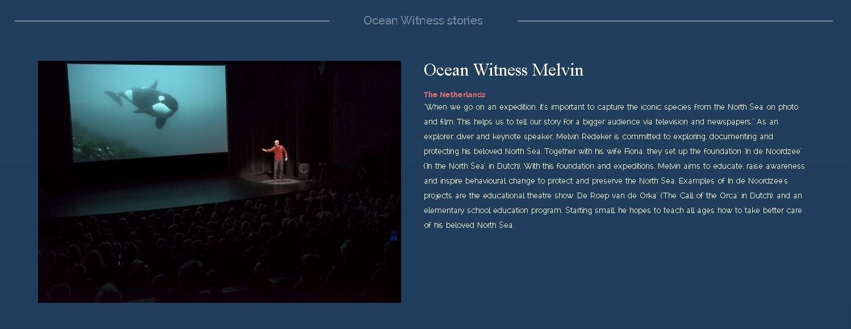Ocean Witness: interview met Melvin