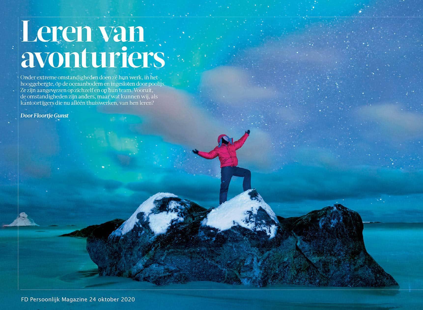 Financieel Dagblad Leren van avonturiers