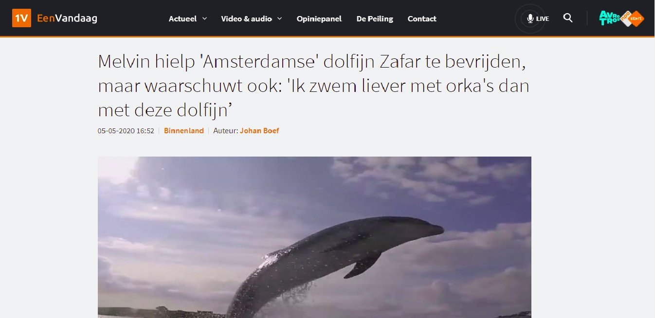 Melvin Redeker EenVandaag