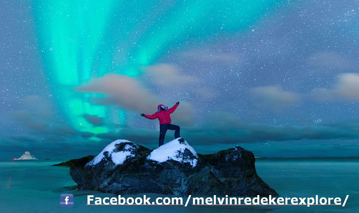 Melvin Redeker avonturier en spreker Melvin Redeker noorderlicht arctisch noorwegen