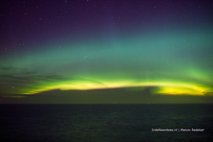Wauw!! Noordzee noorderlicht